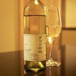 60523334 - 白ワイン「グリド甲州」