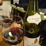 居酒屋 もともと - 赤ワイン
