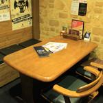 ディアーズ - 【仕切られた空間のテーブル席】
