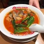 太陽のトマト麺  - 太陽のボンゴレ麺♪