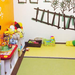 子供が笑顔になれる広々KIDSルーム