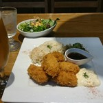 60533758 - 2016/12 無限牡蠣フライ定食¥1200(税込)