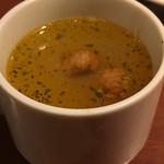 地下のスペインバル ALBA - スープ