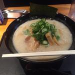 麺匠 えい蔵 - えい蔵ラーメン(大盛・太麺)