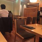 竹葉亭 - テーブル席