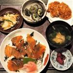 雑魚や紀洋丸 - べっこう丼(セット)