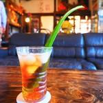 島京梵天 - 島のアロエ茶