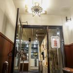 J.S. BURGERS CAFE - 入り口