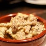 サアズデイオフ - きのこと鶏団子のカルボナーラ煮