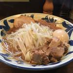 豪麺 マルコ - 特小ラーメン+角切りチャーシュー(650円+Hot Pepper クーポン)