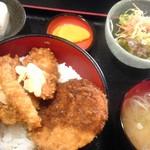 蒼屋 - ソースかつ丼あいもりB 900円