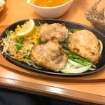インド料理 チャルテ チャルテ - 料理写真:炭火焼チキンセット (スパイス&ハーブチキン)