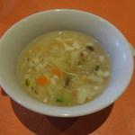 元町 心心相印 - 豆腐と野菜のスープ