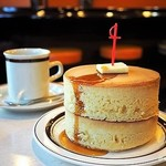 喫茶ちゃっぷ - 厚焼きホットケーキ 二枚