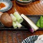 飛梅 - 野菜焼き盛り合わせ