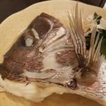 味彩 悠 - 鯛の酒蒸し750円税別