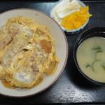 寿美吉 - ミニカツ丼660円