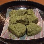 60546771 - 黒糖抹茶わらび餅