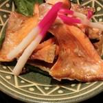 60546895 - 28年12月 キンキ煮魚
