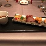 中国料理 翠陽 - 彩り前菜盛り合わせ