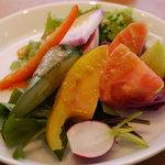 NATURAL KITCHEN TESSHIN - 料理写真:有機野菜のサラダバー