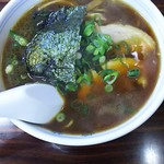 本格屋台 大ちゃんらー麺 - 大ちゃんらー麺(太麺)(2016年12月)