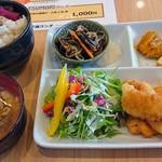 ツモリ カフェ&フラワー - ワンプレートランチ(白身魚フライ)780円