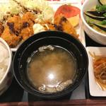 デニーズ - 牡蠣フライ膳1186円