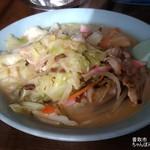 ニュー栄 - 料理写真:ちゃんぽん¥750(税込)