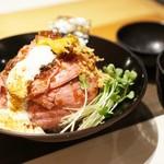 60556703 - 定番のローストビーフ丼☆