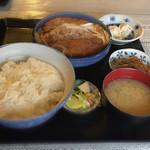 あおい食堂 - カツ煮定食❣️