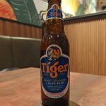 タイガー餃子会館 - タイガービール(630円)