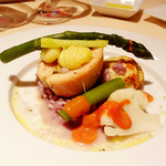 イプシロン - 廣島赤鶏とフォアグラ、香草のインボルティーニ