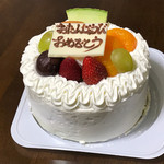 メルシェ - 料理写真:記念日ケーキ1600円(税込)