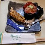 サマルカンド柴藤 - 穴子→ミニミニ鮪丼