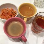 スイーツパラダイス - パスタ、コーヒー、スープ