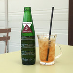 ガーデナーズカフェ - ランチに付くドリンク(ジンジャエール)