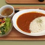ガーデナーズカフェ - 料理写真:ランチ(キーマカレー)980円 ドリンク付