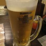 ニューなかみ家 - 生ビール