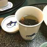 河広 - 王道のひれ酒!! 注ぎ酒をもう2杯!!
