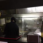 つけ麺 舞 - お店の内観です☆。.:*・゜