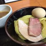 つけ麺 舞 - 濃厚鶏つけそば (並)                             味玉トッピング☆。.:*・゜