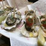 スペインバル ピー - 生牡蠣!