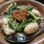 スペインバル ピー - 牡蠣アヒージョ!
