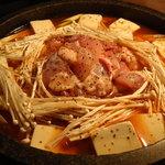 韓国家庭料理 天 - とり鍋