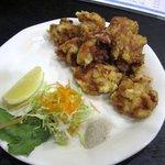 一宝軒 - 鳥肉の唐揚げ580円です、ジューシーな鳥肉が美味しい味付の唐揚げに仕上がってます。