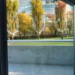 カノビアーノカフェ - 窓に切り取られた景色は、まるで絵葉書のようです♪
