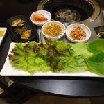 NORITO - 焼肉のセット野菜(おかわりOK)