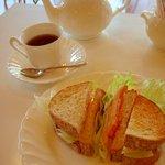 カフェ・ジャルダン - 料理写真:サンドウィッチセット
