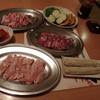 炭火焼肉 錦 - 料理写真:頼んだものが勢揃い